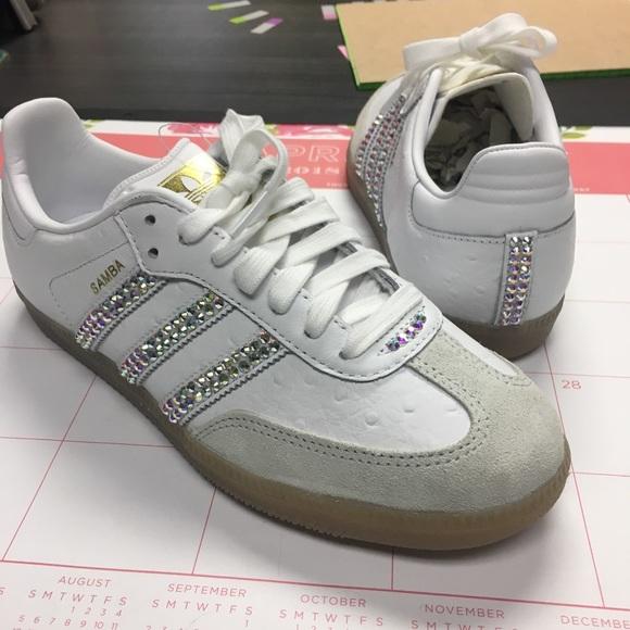 7a04da757b4b7 Adidas Originals Samba w bling!